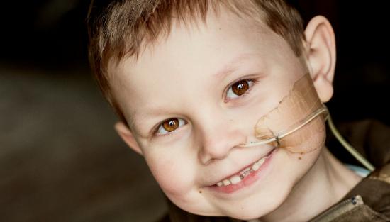 Barn med kræft
